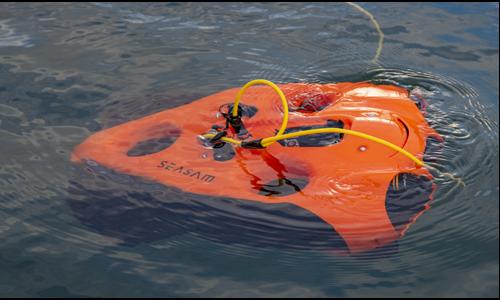 ROV rental - Seasam underwater drone