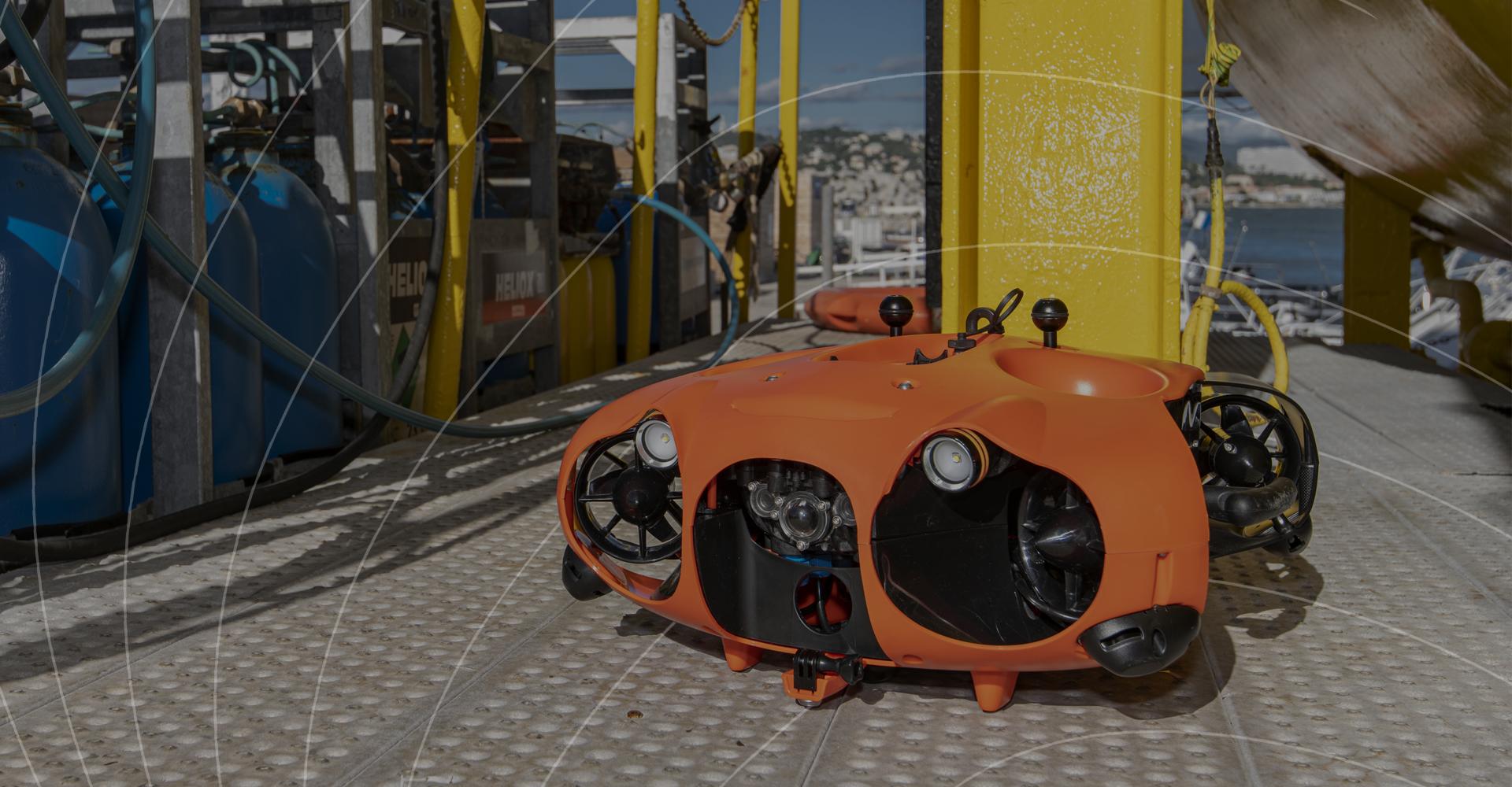 Drone sous-marin pour inspection sous-marine-Seasam -Notilo plus