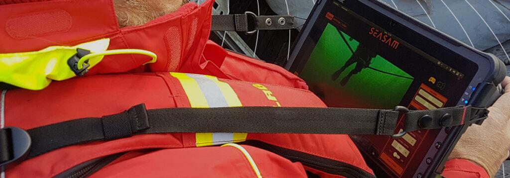 Inspection simplifié avec le drone aquatique seasam Notilo Plus