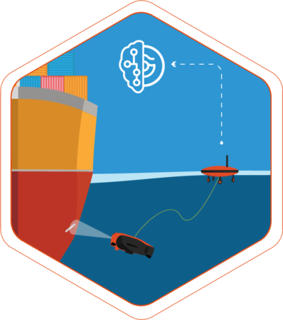 rov inspection - underwater drone